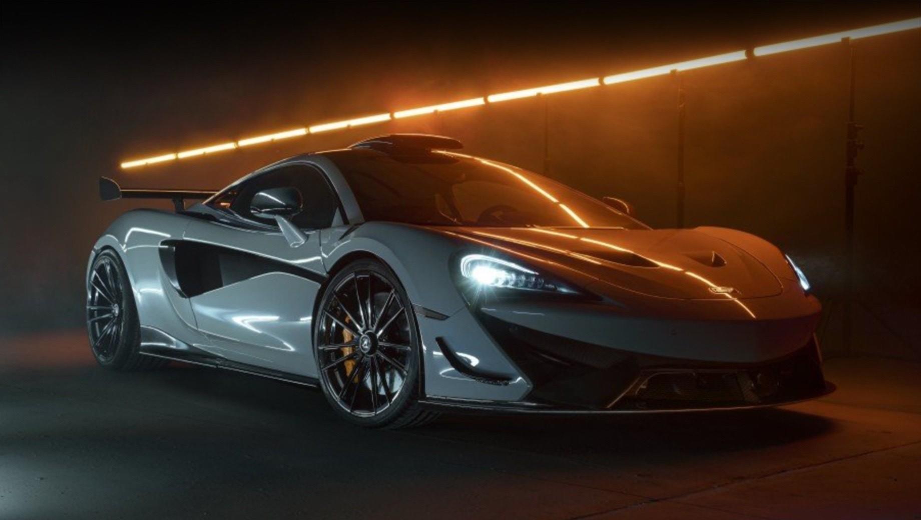 Бюро Novitec доработало купе McLaren 620R