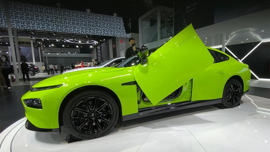 Xpeng P7 Wing привлечёт покупателей необычными дверями