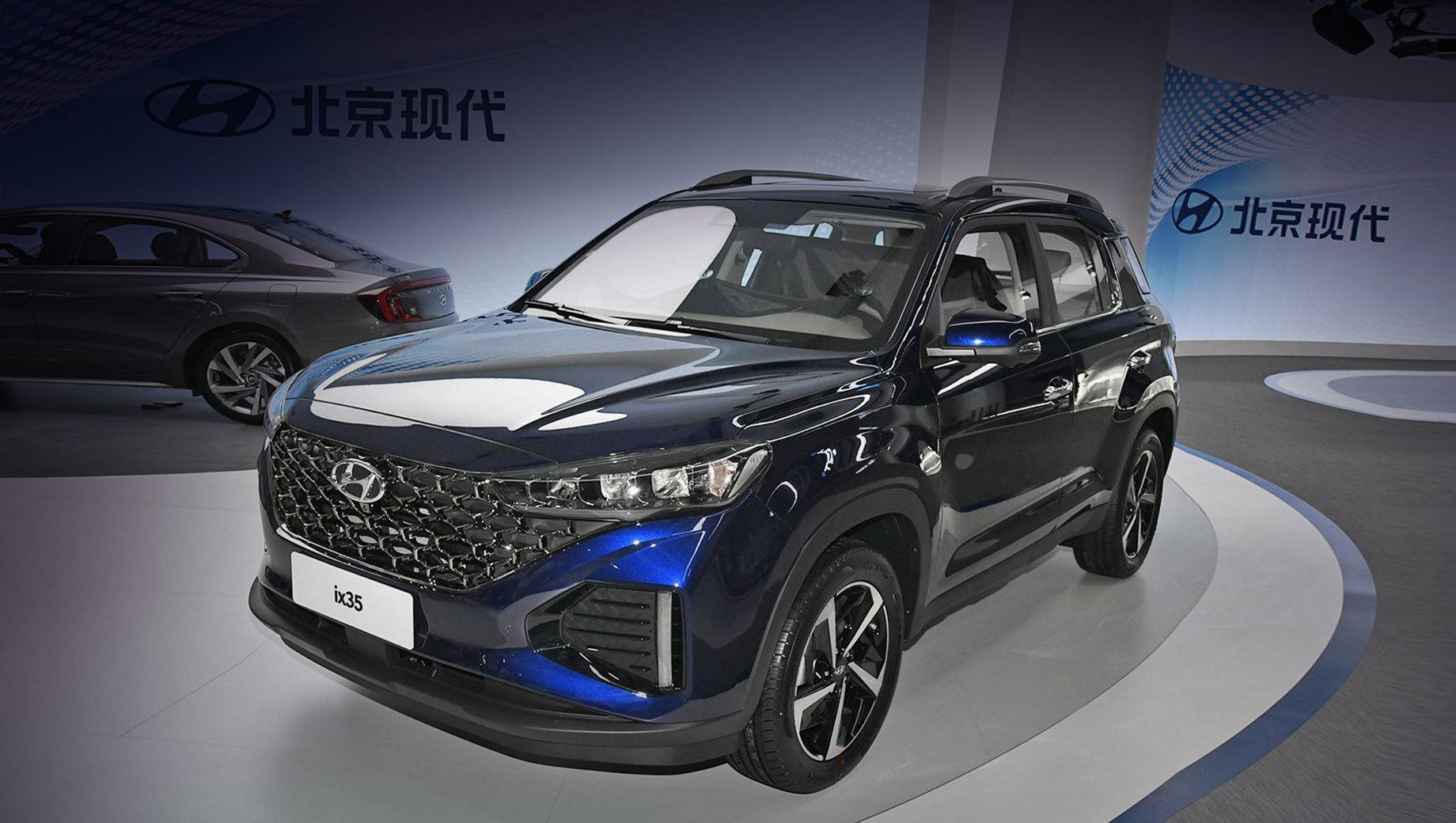 Hyundai ix35 омолодился с прежними агрегатами