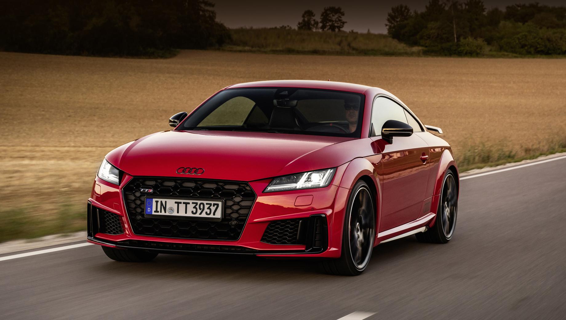 Пара Audi TTS competition plus порадовала отдачей мотора