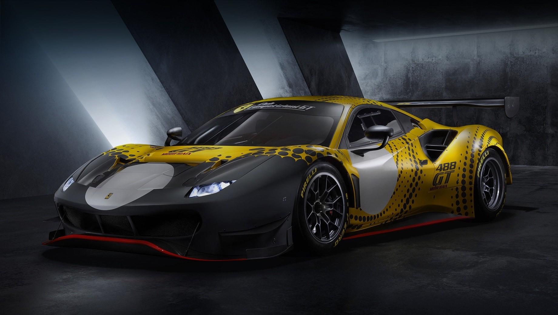 Ferrari выпустила гоночный суперкар 488 GT Modificata для своих