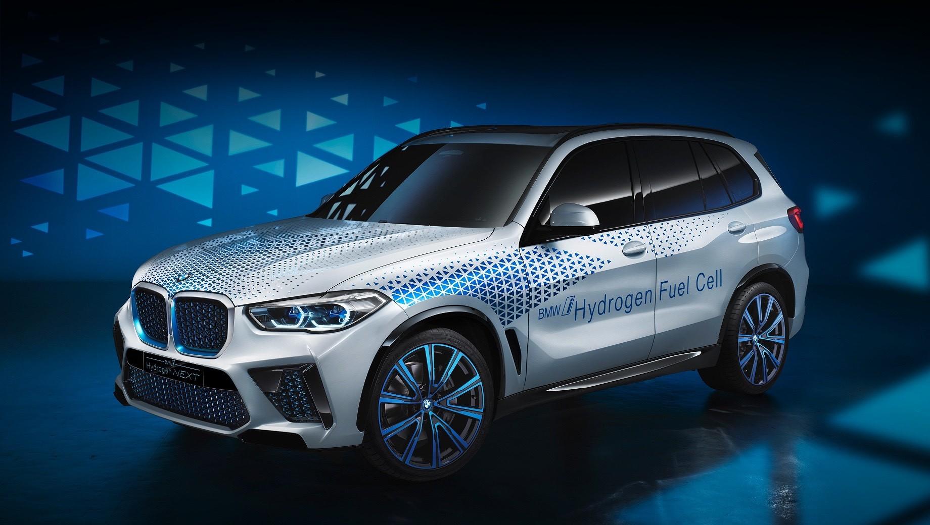 Кроссовер BMW i Hydrogen Next отойдёт от технологий Тойоты