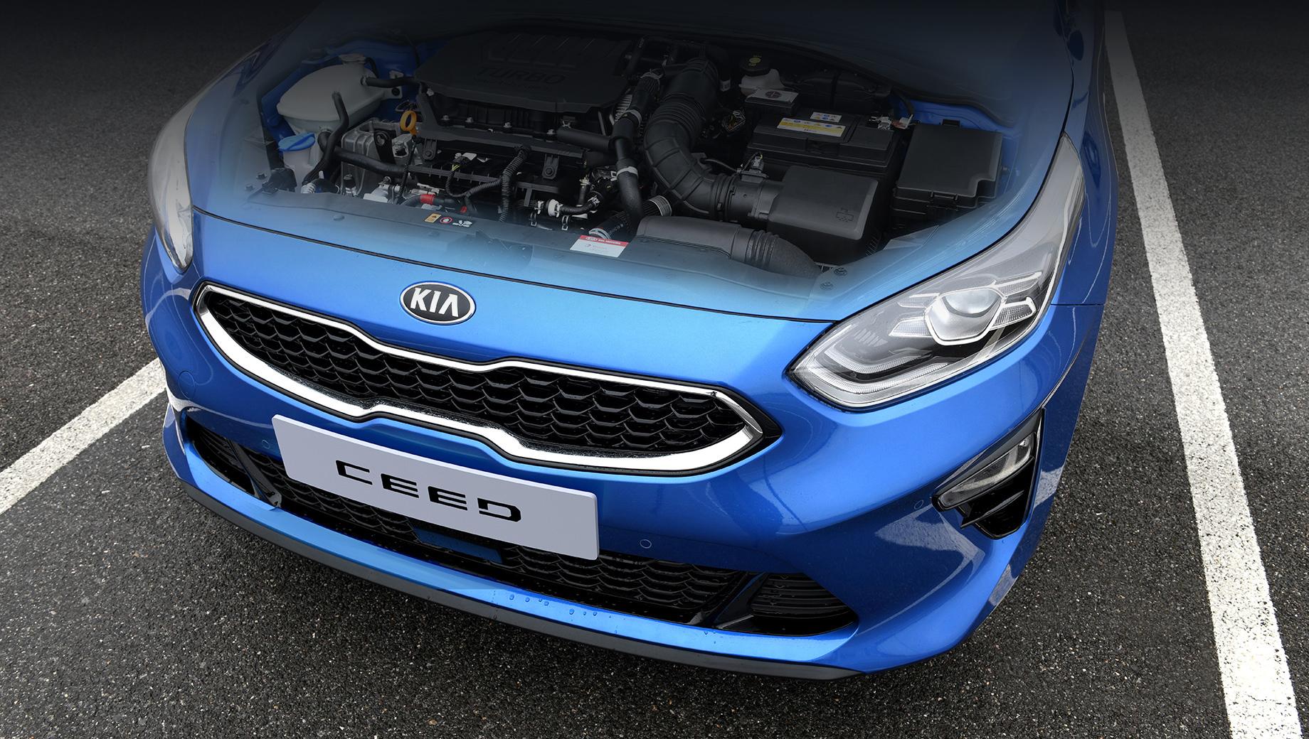 Европейский Kia Ceed разжился новыми силовыми установками