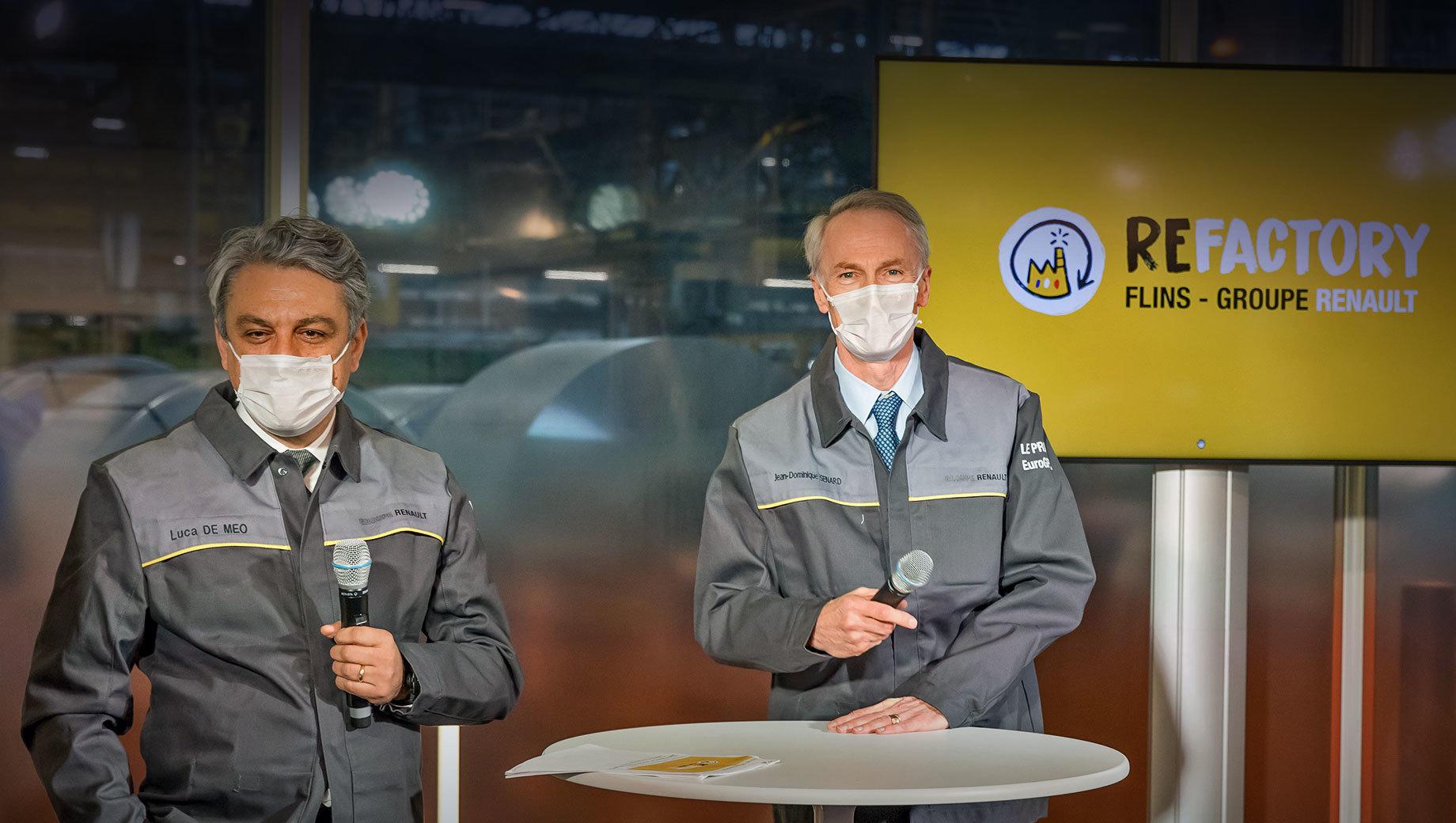 Renault построит первый в Европе завод замкнутого цикла