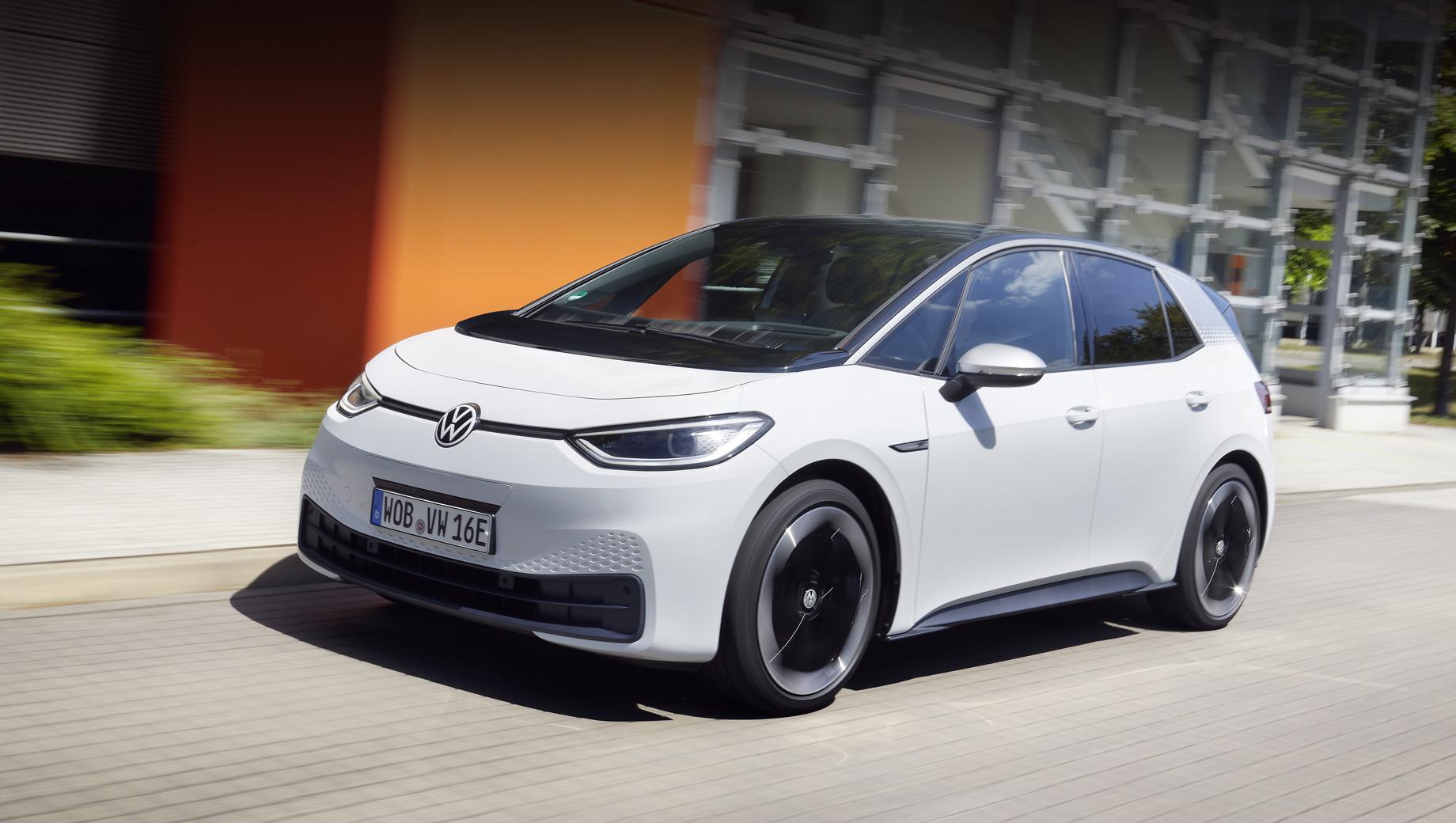 Volkswagen ID.3 стал самым популярным электрокаром в Европе