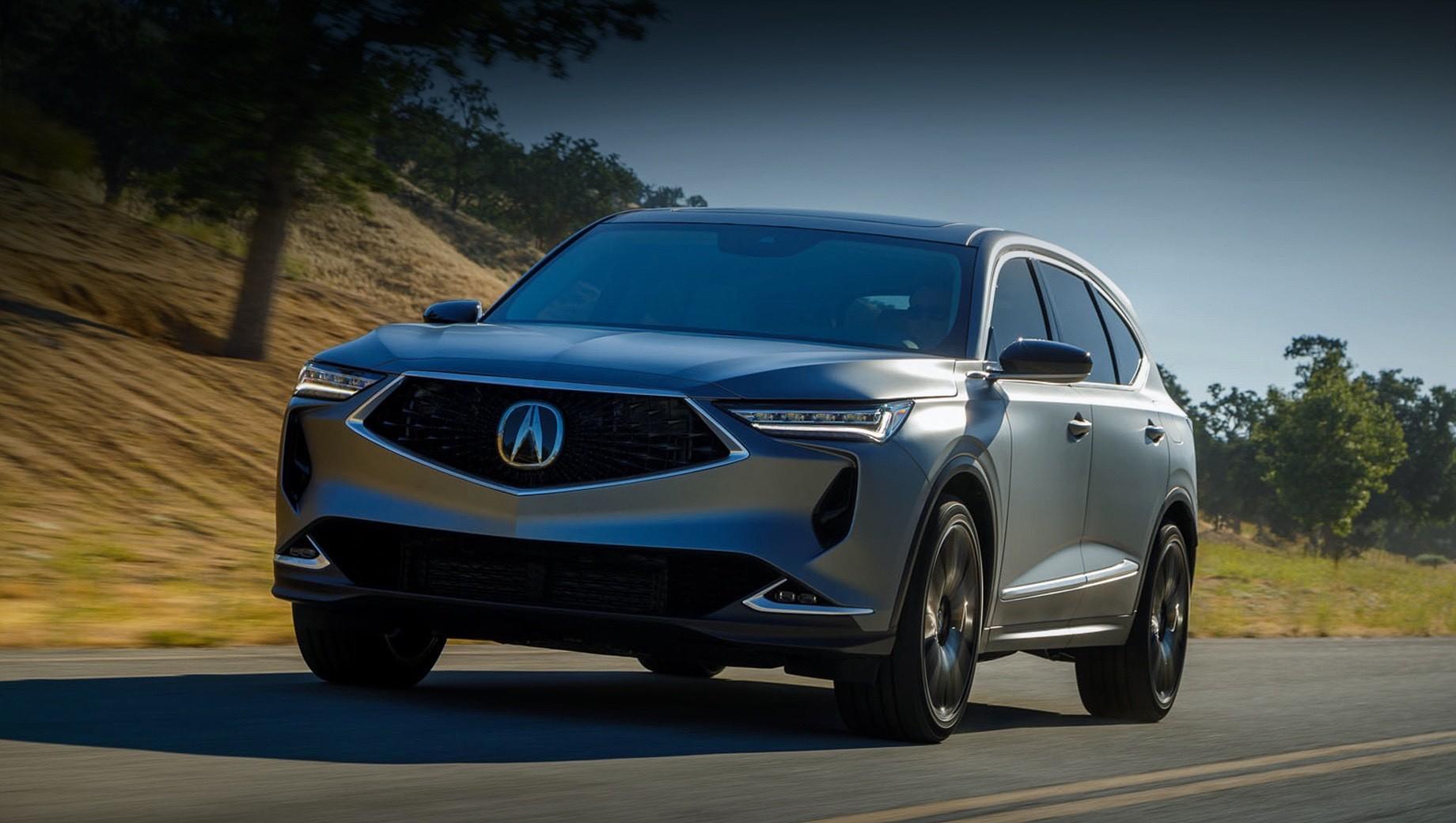Acura mdx. Все подробности о модели Acura MDX четвёртой генерации представят непосредственно перед стартом продаж. В начале 2021-го покупателям предложат версии с мотором V6 3.5, а модификация с турбомотором V6 3.0 выйдет летом того же года. Выпуск наладят на заводе в Огайо, как и прежде. К слову, за 20 лет в США купили больше миллиона автомобилей Acura MDX.
