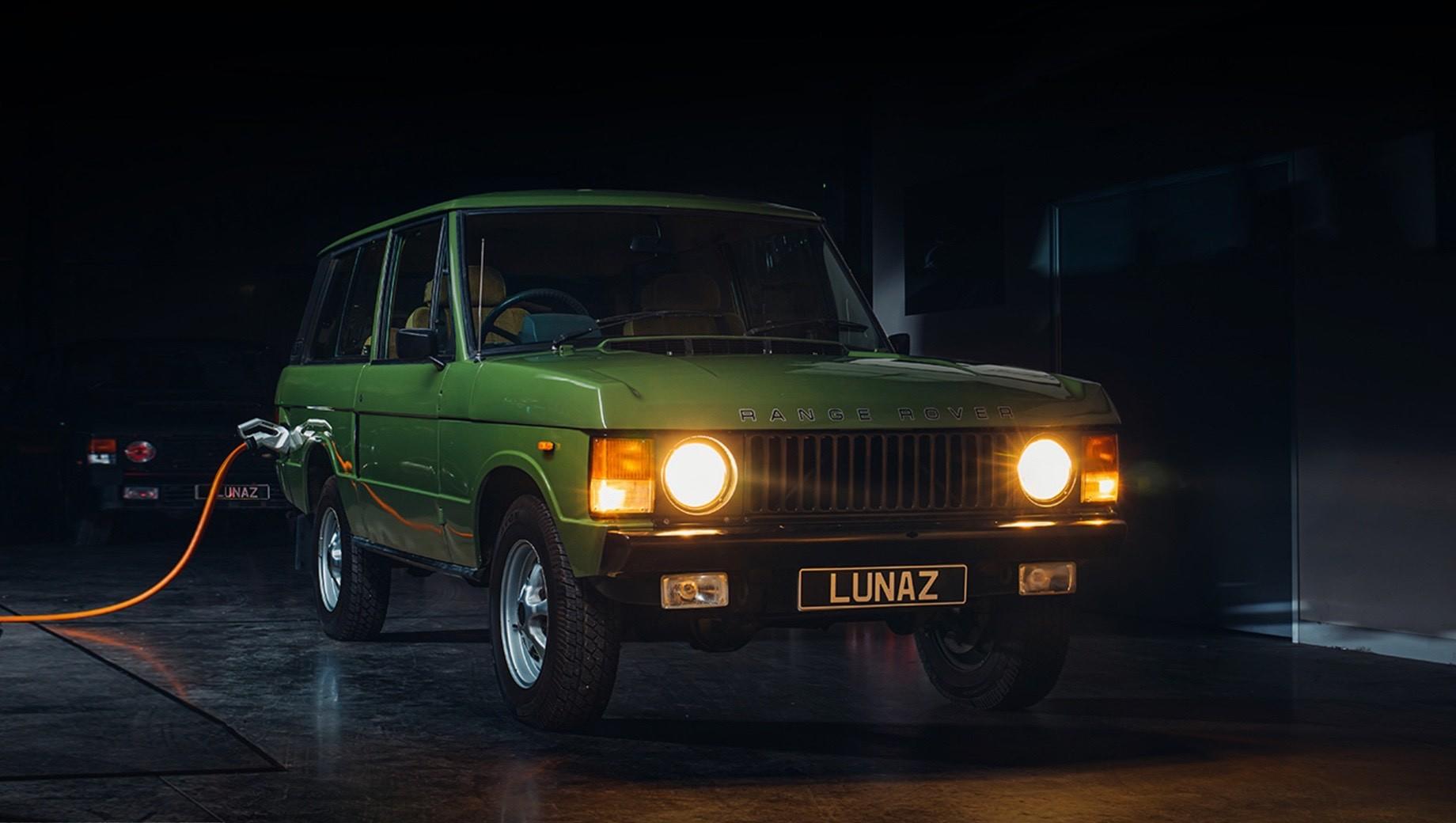 Фирма Lunaz превратила Range Rover Classic в электрокар