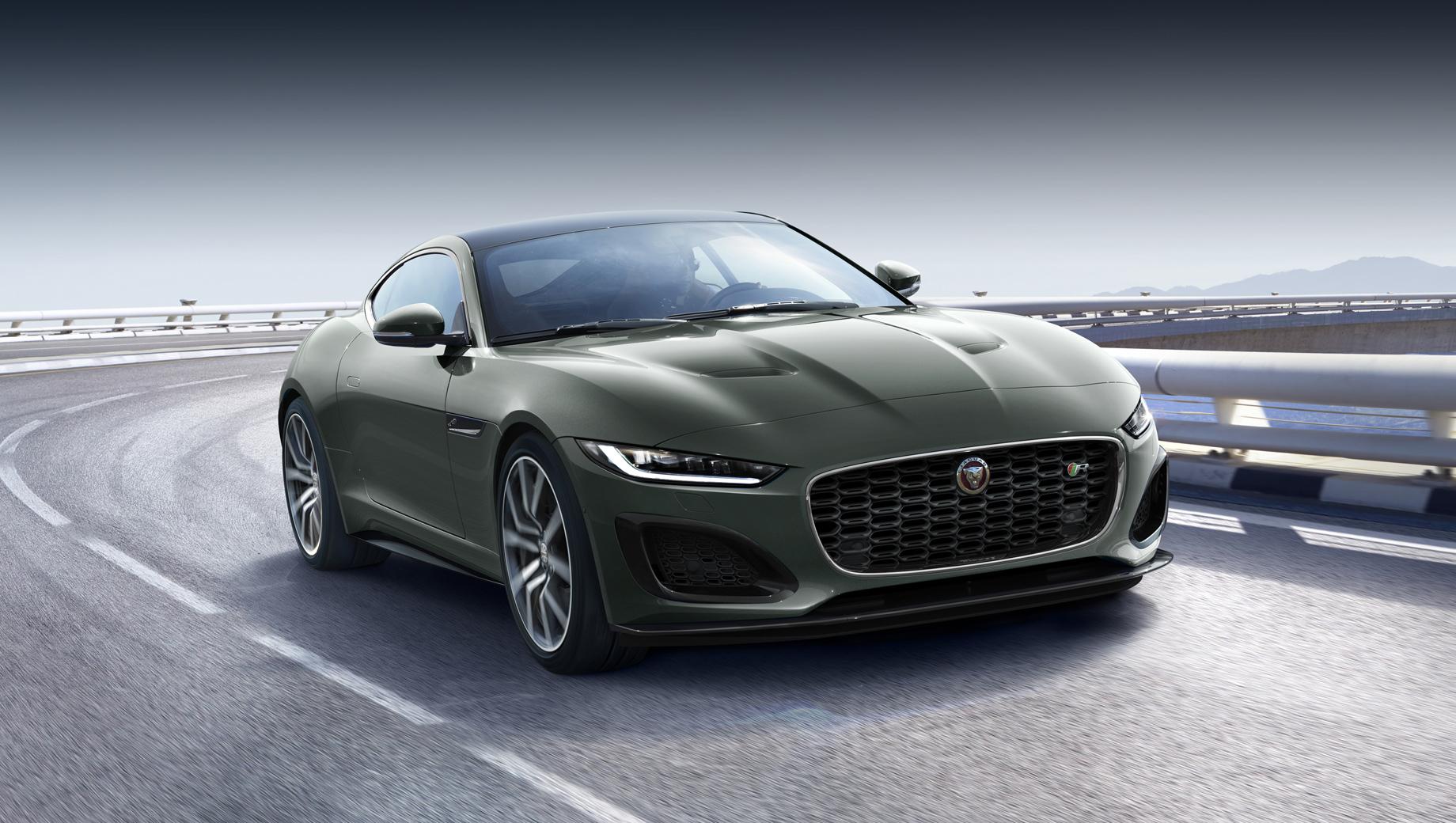Jaguar F-type Heritage 60 поздравит E-type с юбилеем