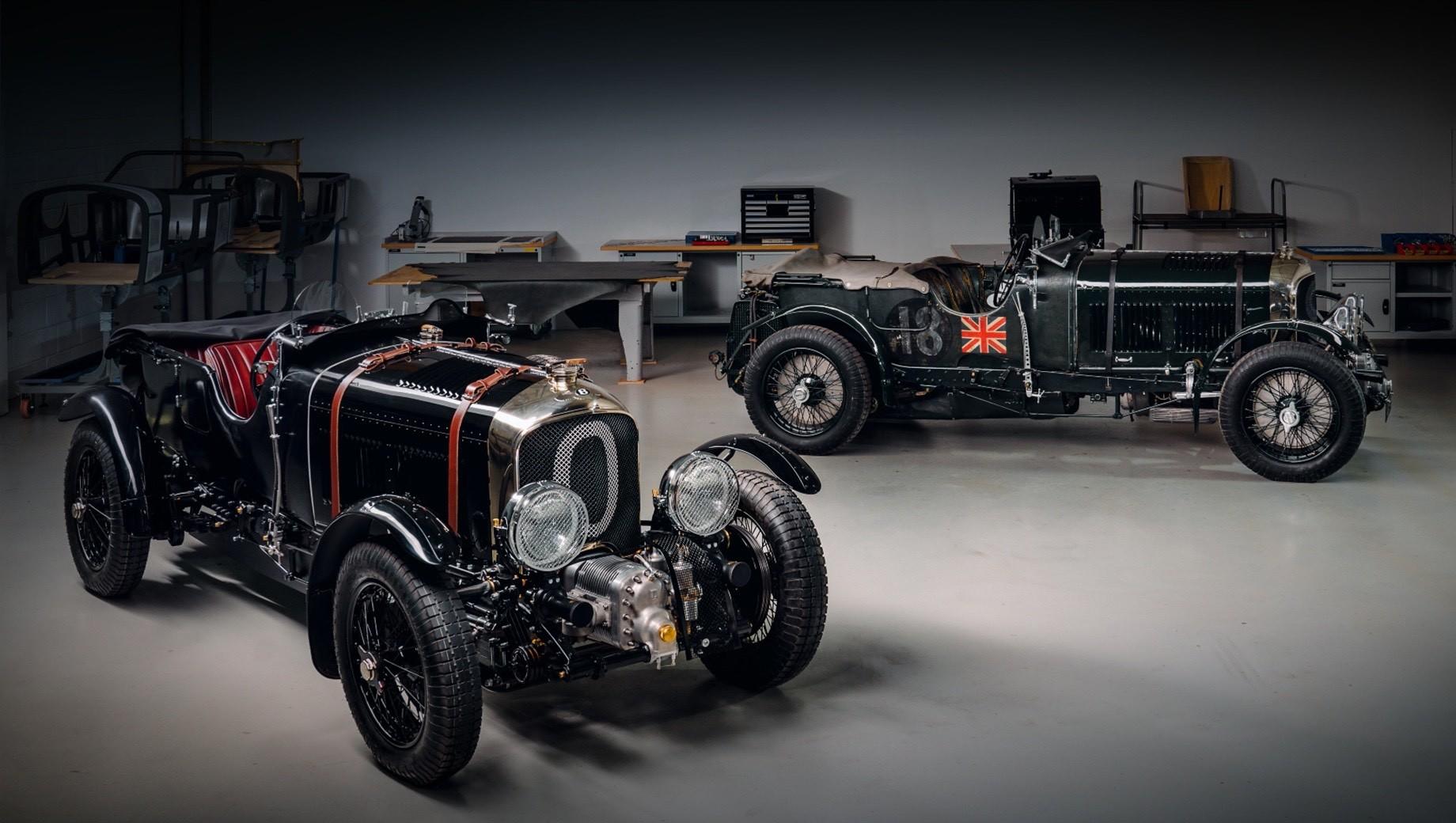 Первая реплика Bentley Blower раскрыла особенности проекта