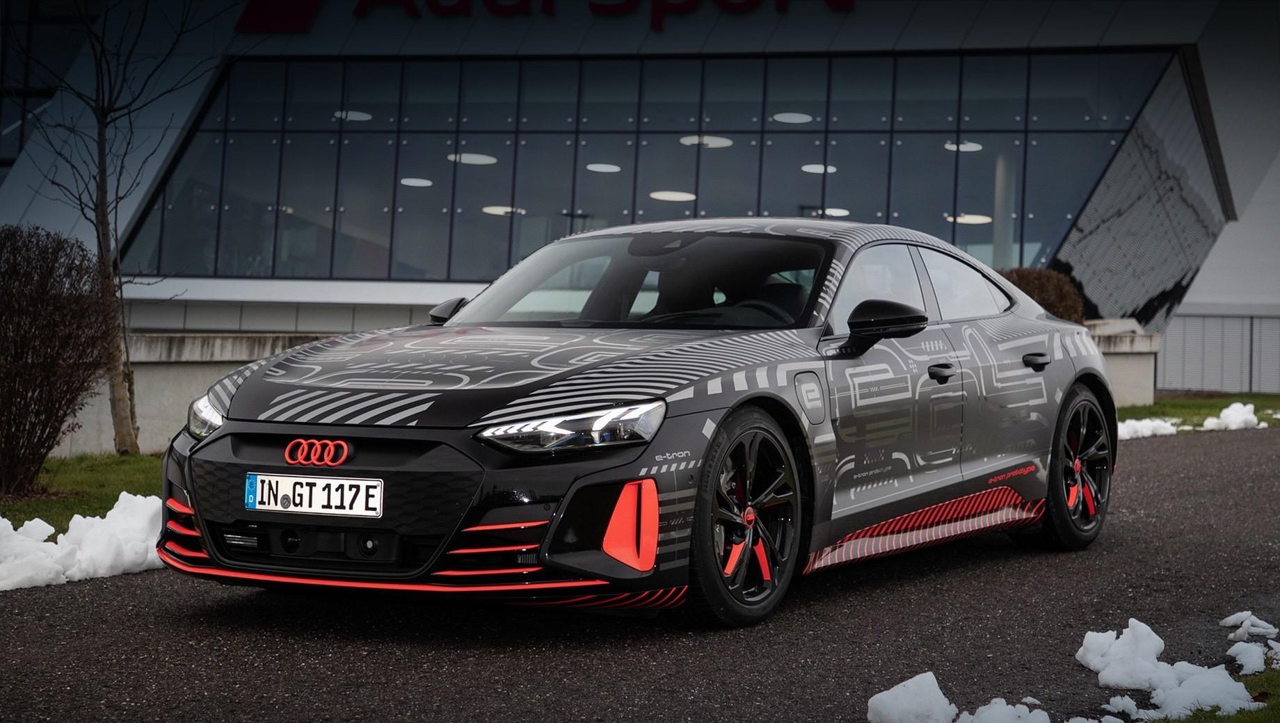 Серийный Audi e-tron GT выйдет на рынок весной 2021 года