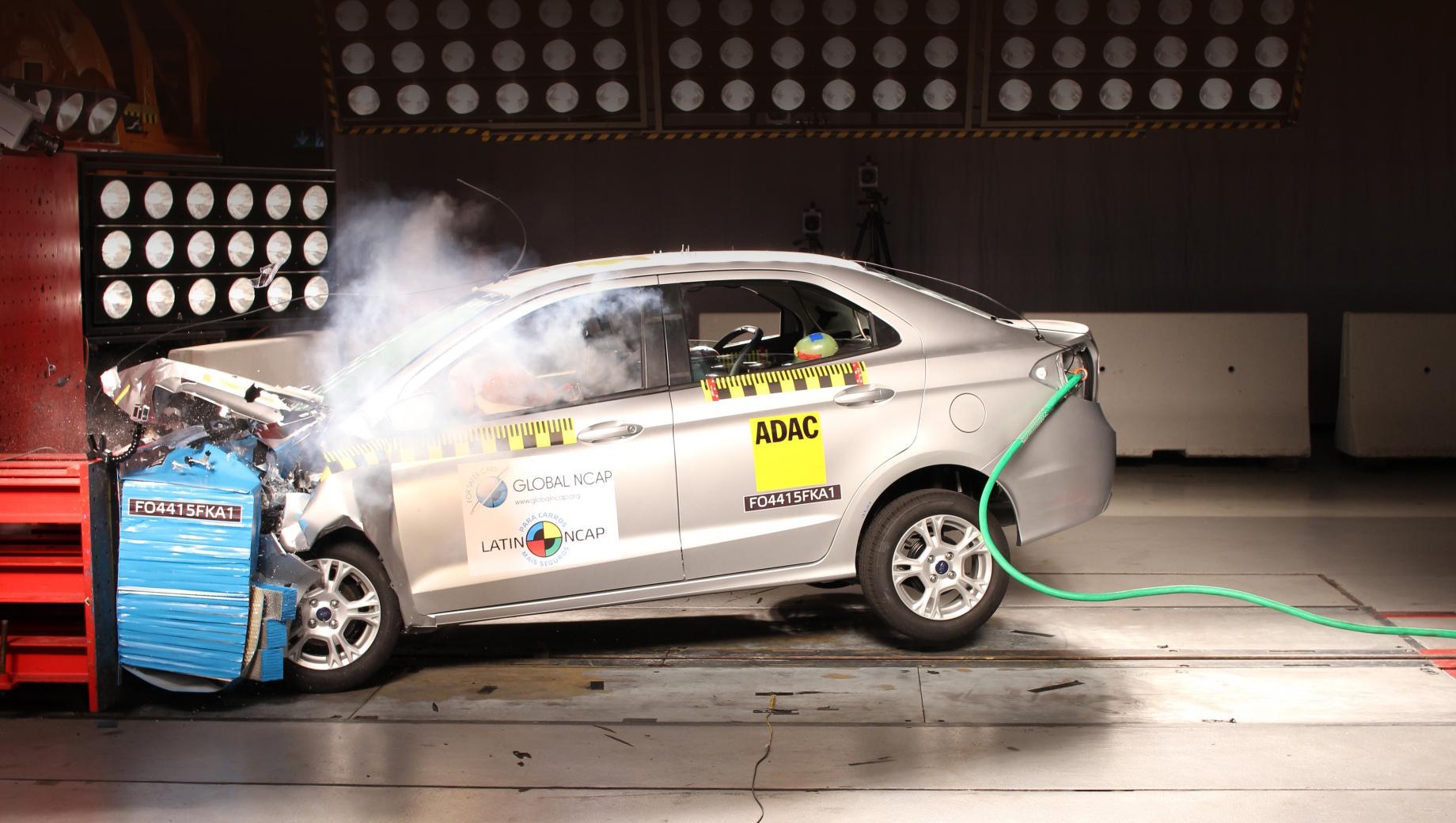 Ford ka,Hyundai hb20. Седан Ka по сути повторил печальный результат 2017 года. Нужно сказать, что с того момента сама ассоциация скорректировала свои правила начисления баллов, в частности, на итог сейчас сильно влияет стандартное оснащение системами безопасности.