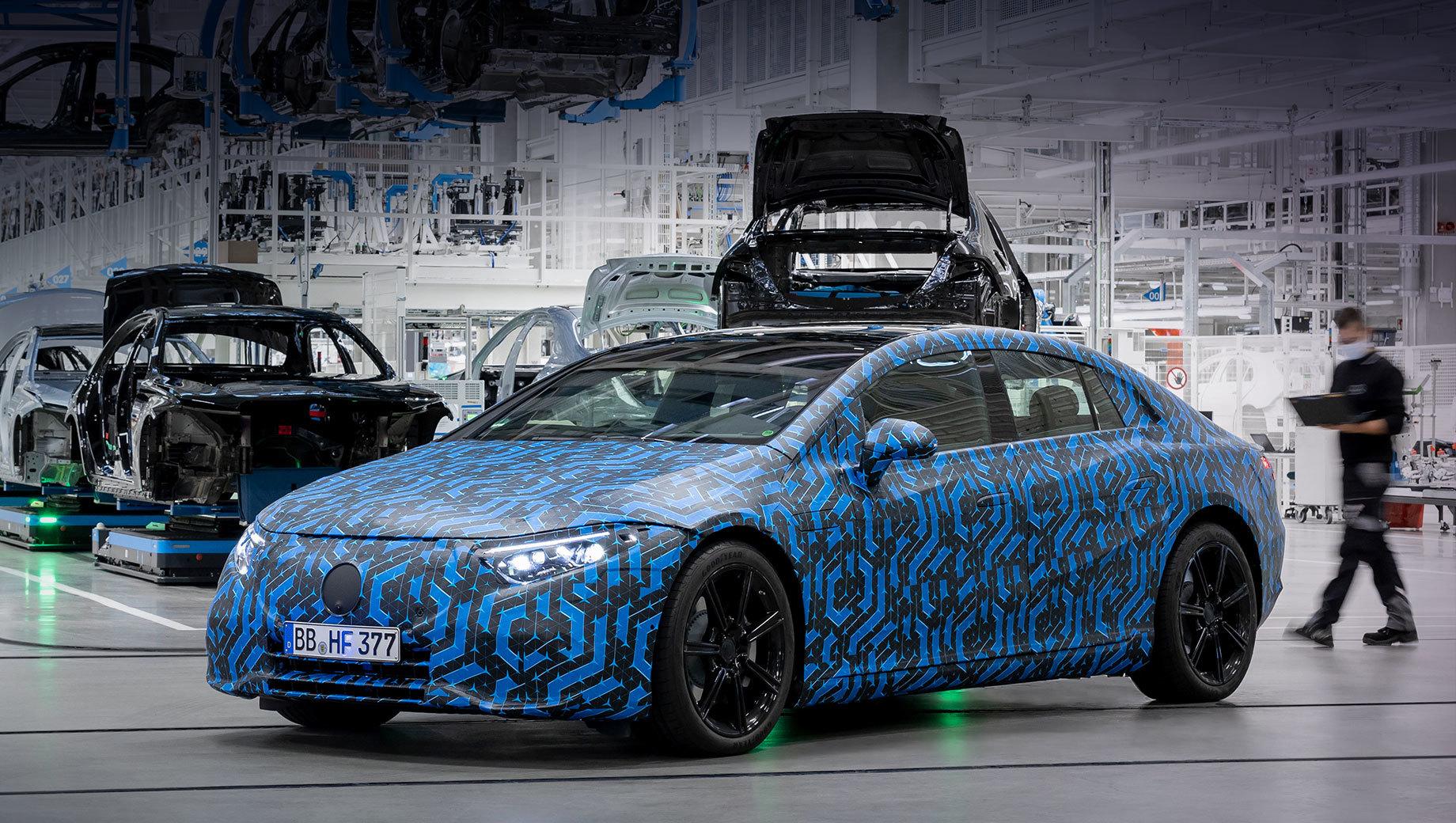 Mercedes-EQ в 2021 году запустит четыре электрокара