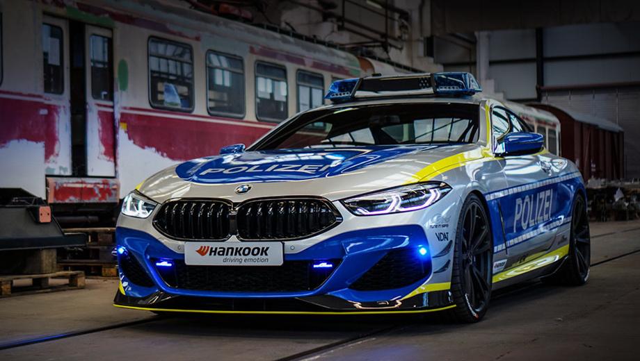 Бюро AC Schnitzer представило полицейскую версию BMW M850i