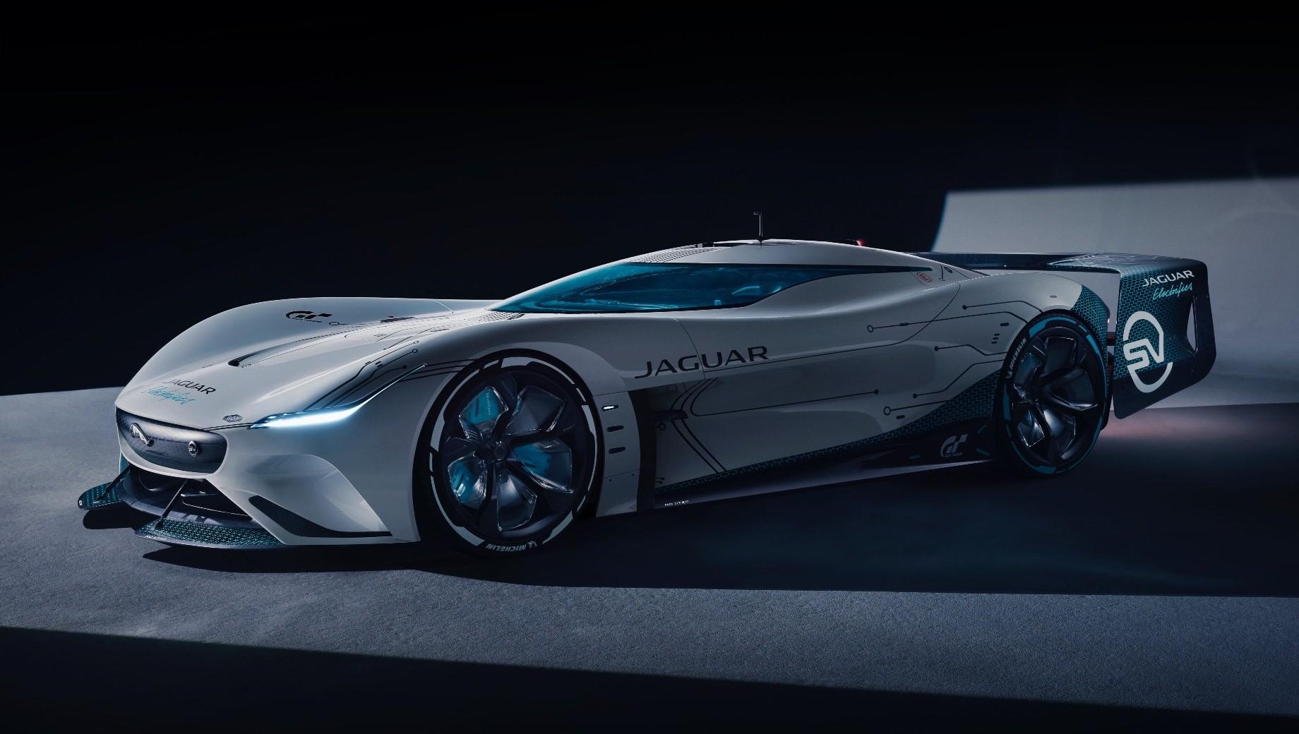 Виртуальный Jaguar Vision GT SV построен «в металле»