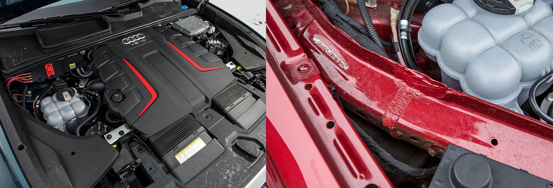 Удваиваем шансы понять супердизель V8 4.0 сAudi SQ7 иSQ8