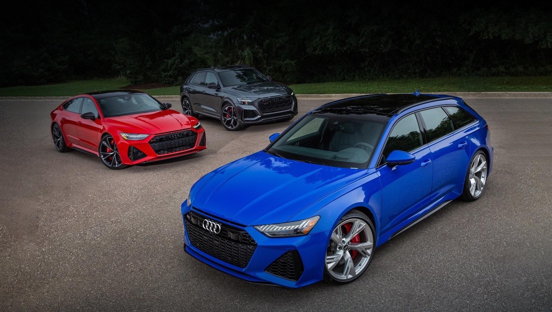 Дилеры Audi начали приём заказов на RS-автомобили