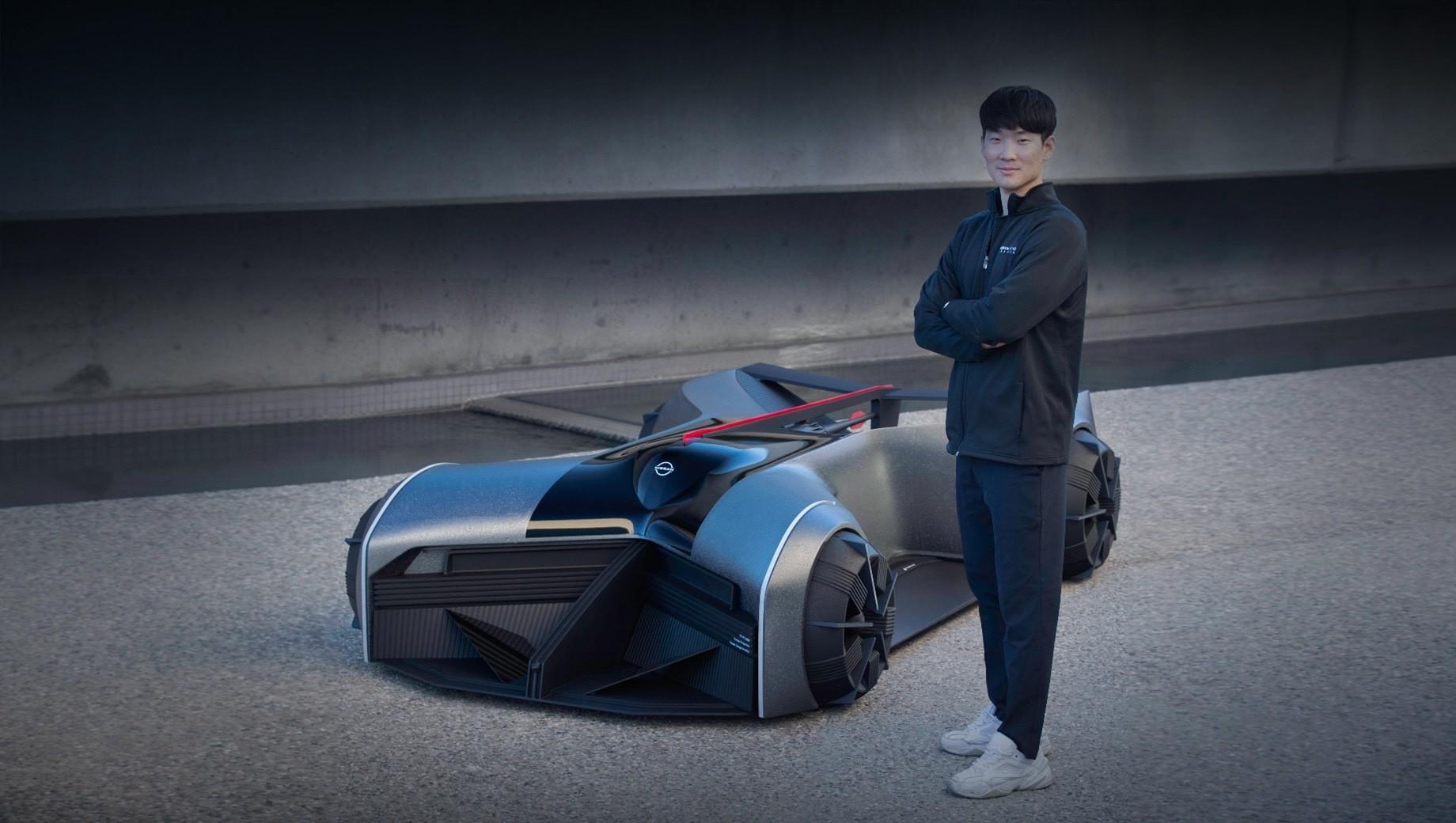 Электрический концепт Nissan GT-R (X) заглянул в 2050 год
