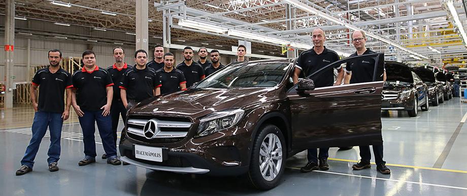 Mercedes-Benz прекратил выпуск легковушек в Бразилии
