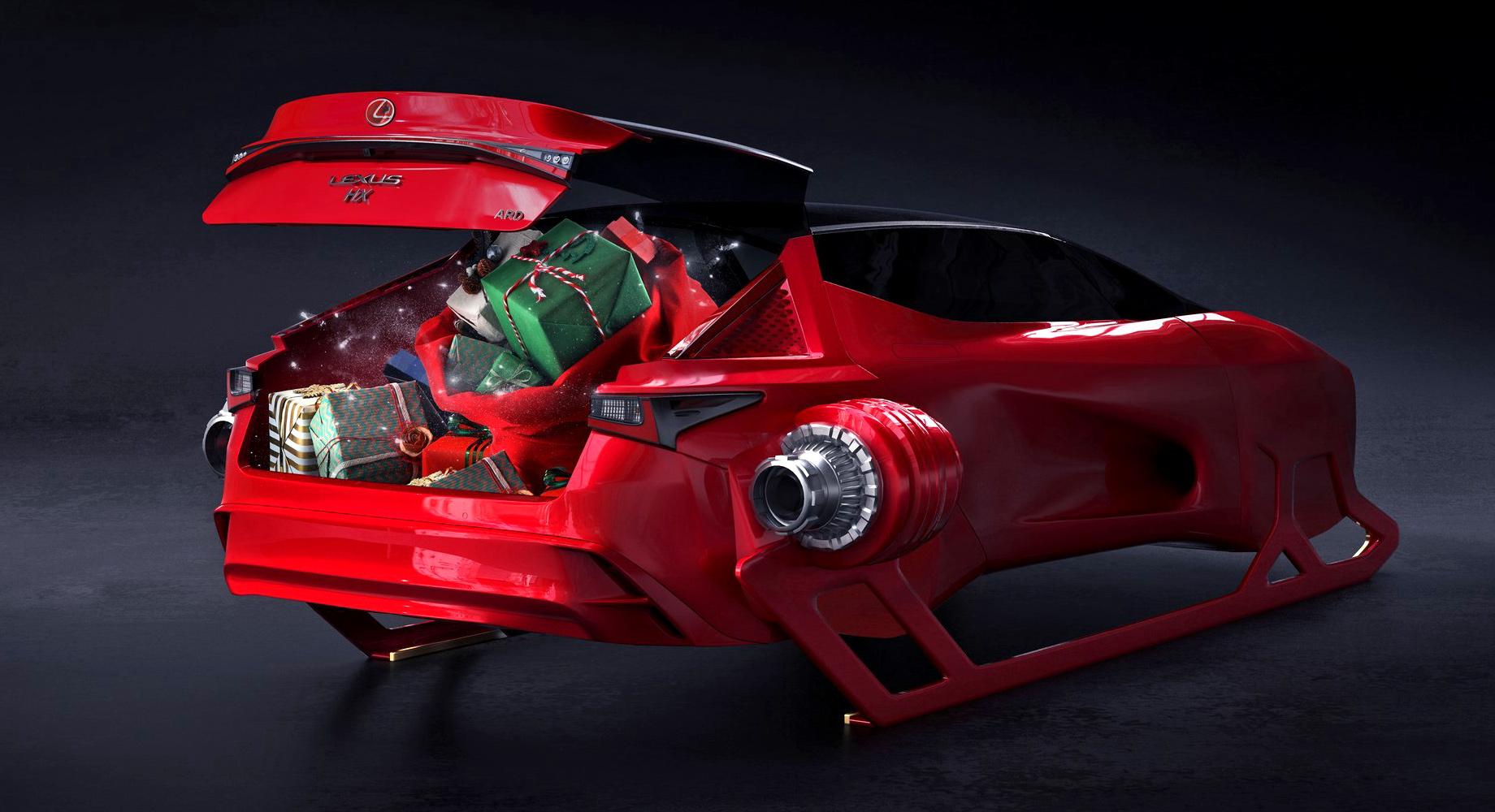 Концепт Lexus HX Sleigh похвастал бесконечным багажником