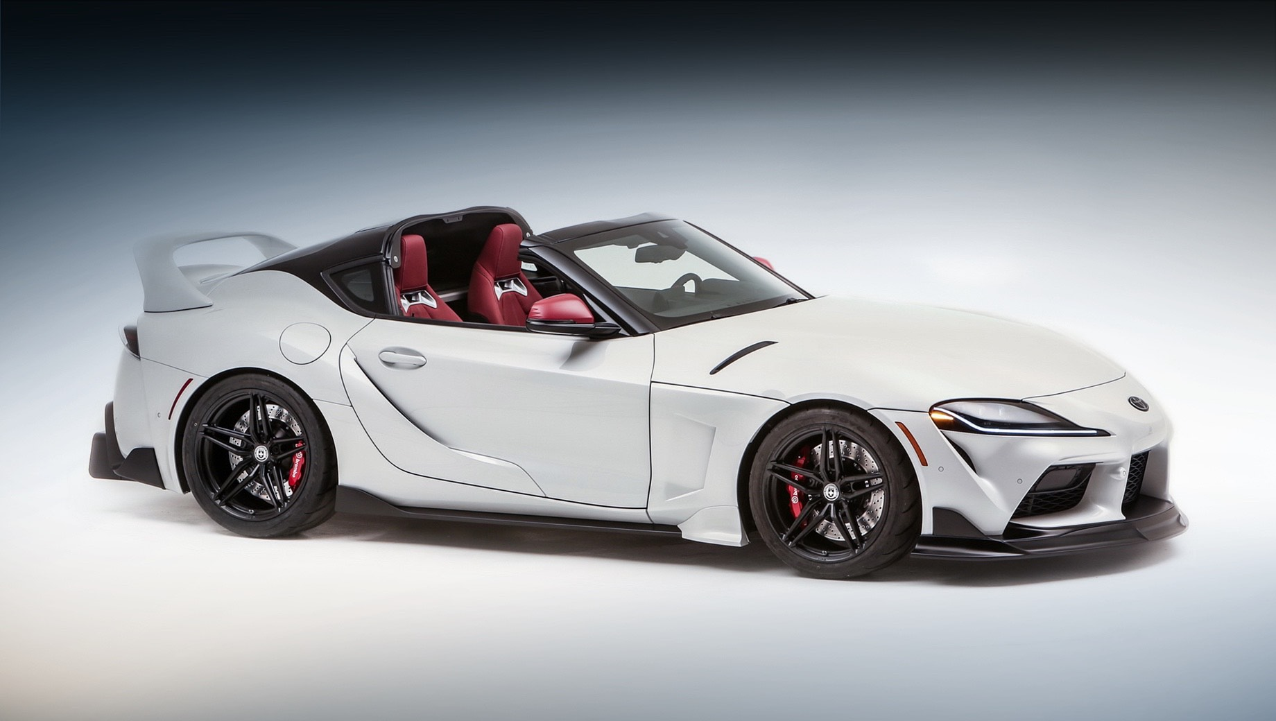 Тарга Toyota Supra Sport Top дебютировала онлайн
