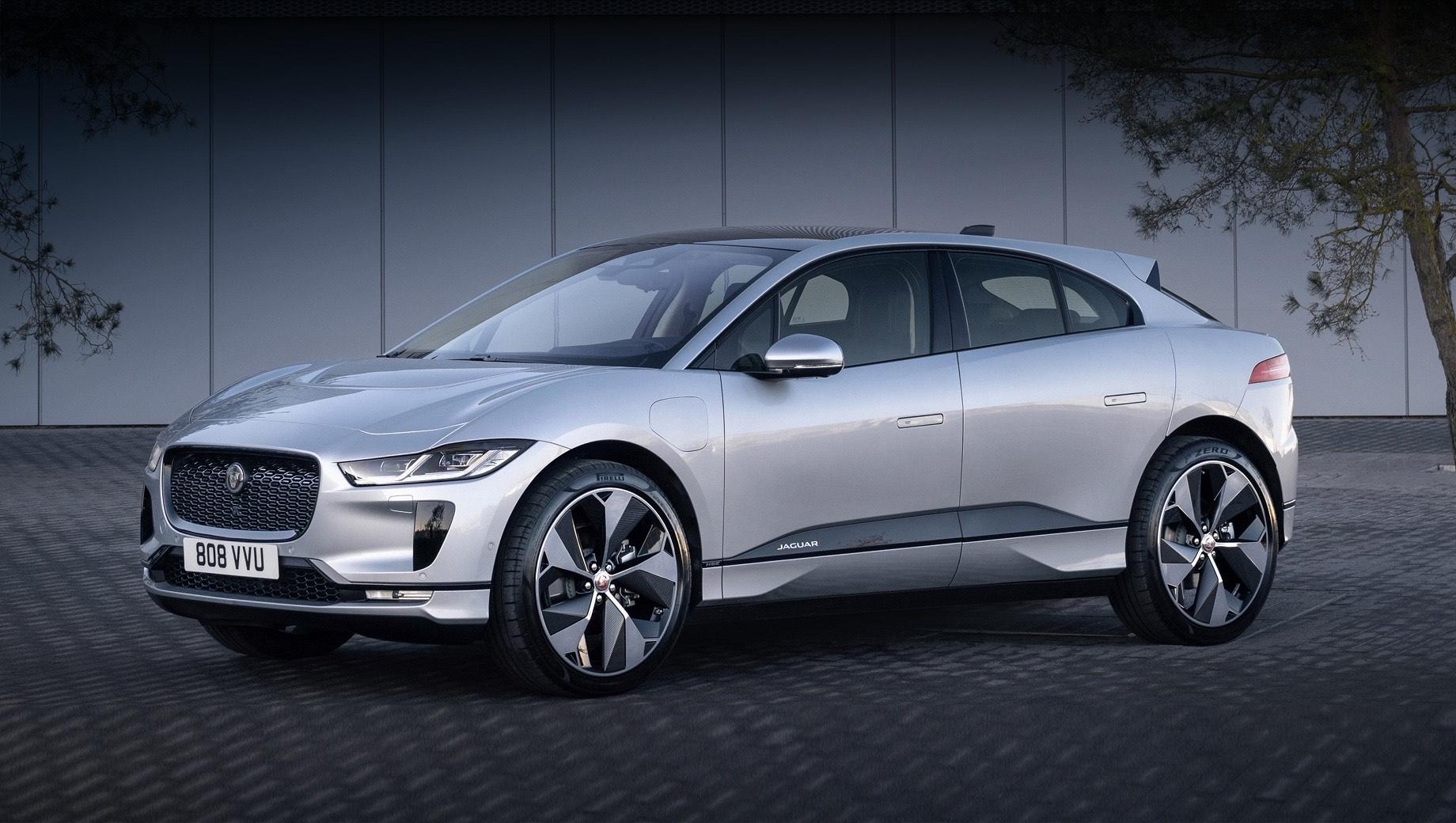 Открылся приём заказов на обновлённый Jaguar I-Pace