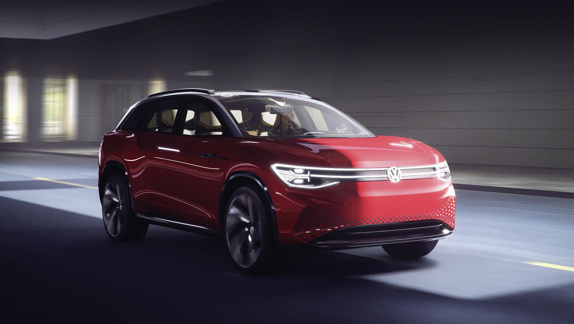 Кроссовер Volkswagen ID. Roomzz станет прерогативой Китая