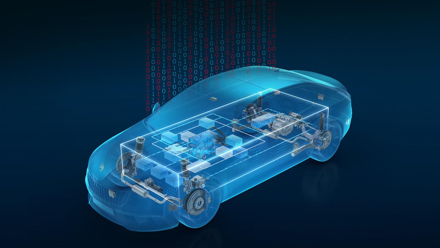 Компания ZF разработала связующий софт для автомобилей