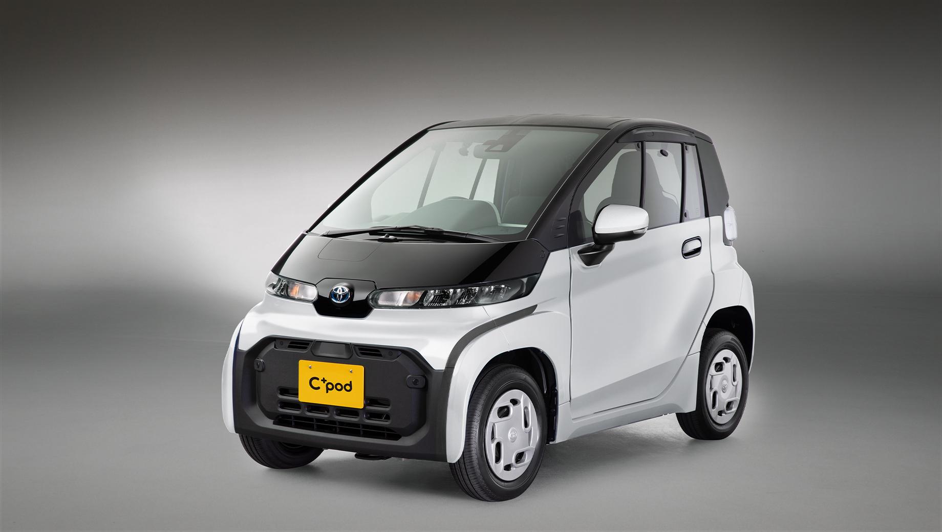 Электрокар Toyota С<sup>+</sup>pod предложен японским автопаркам