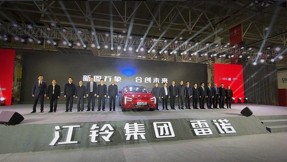 Группа Renault и JMCG запустили завод для лифтбека GSE