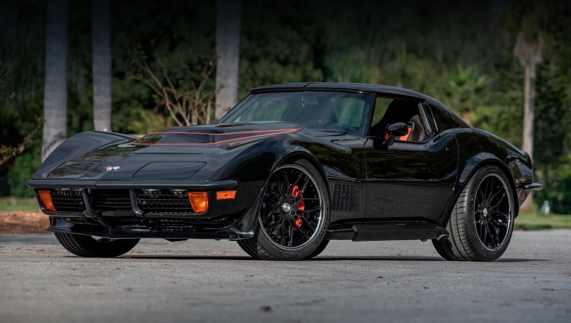 Американцы напичкали Corvette C3 деталями от версий Z06