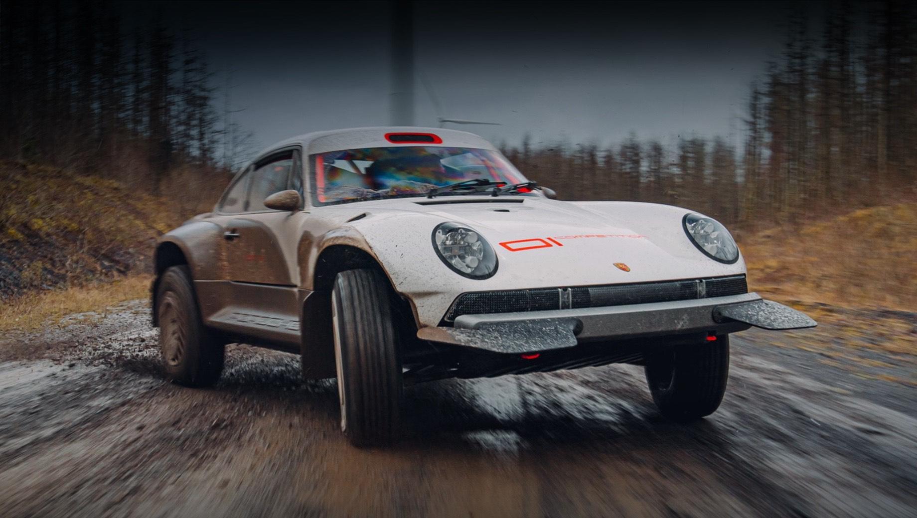 Singer ACS явился наследником ралли-купе Porsche