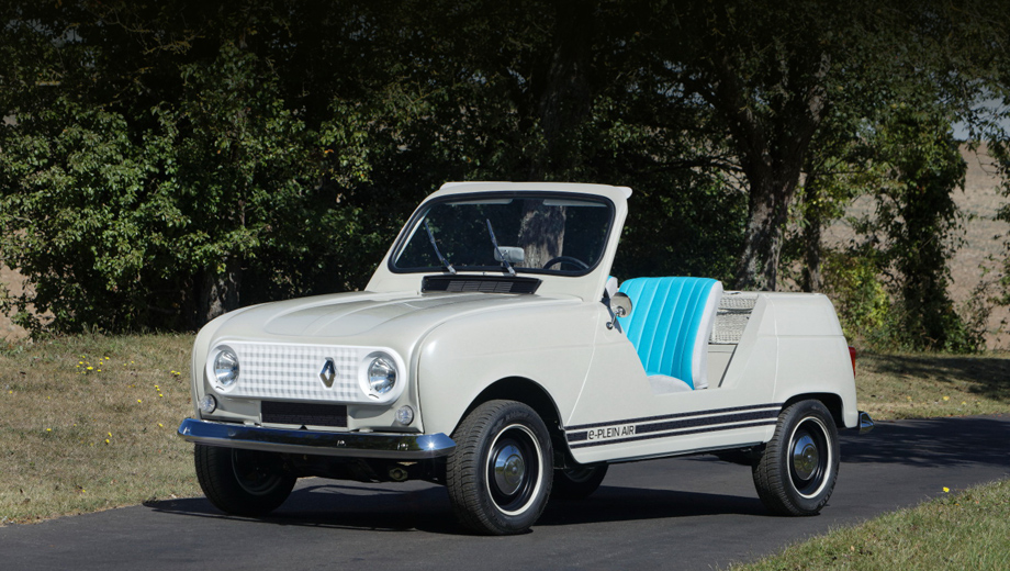 Renault 4,Renault 5. У компании уже есть занятный опыт совмещения современного электропривода с кузовом ретро: концепт Renault 4 e-Plein Air 2019 года с начинкой от Renault Twizy.