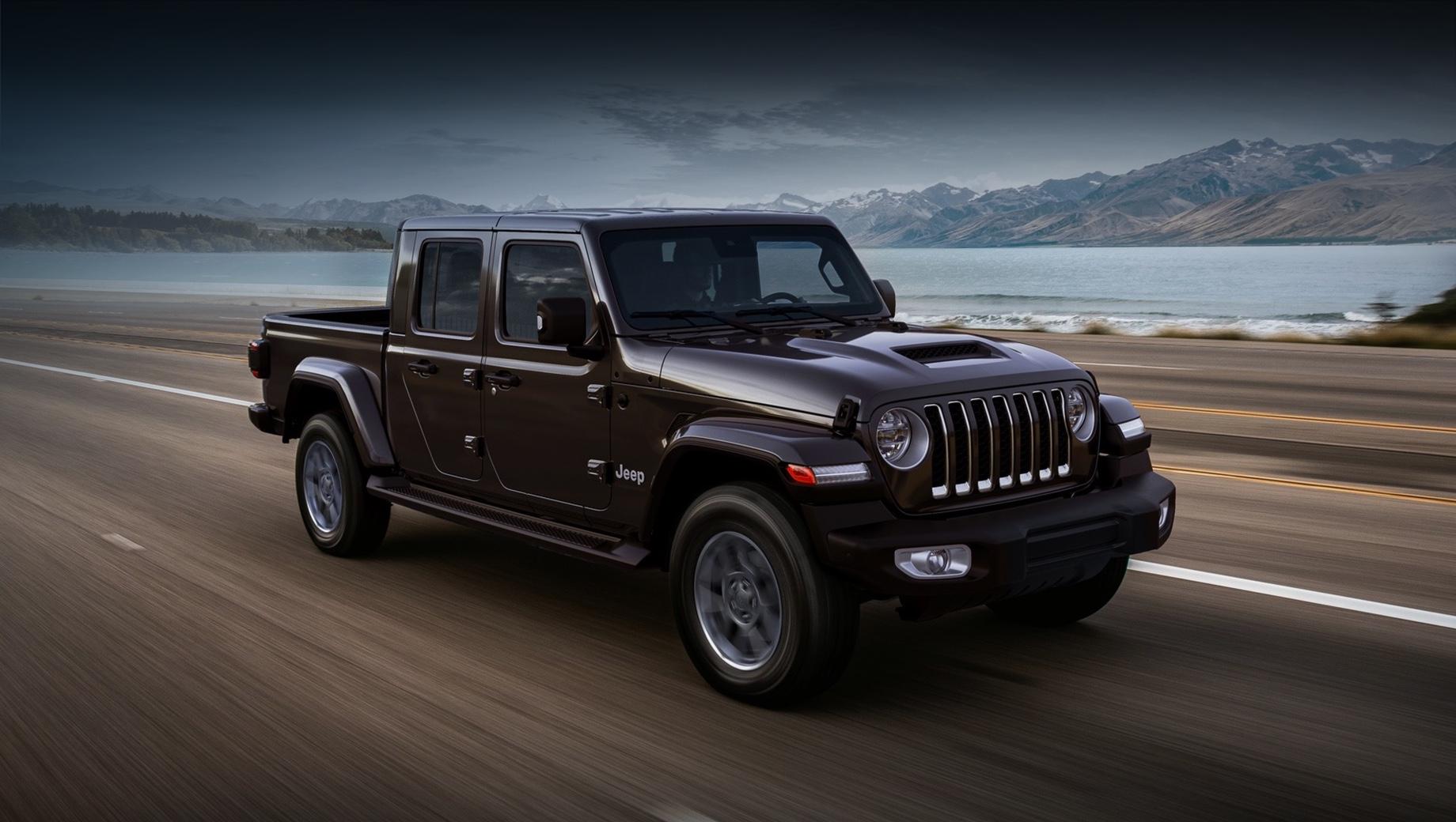 Начались продажи пикапа Jeep Gladiator в Европе
