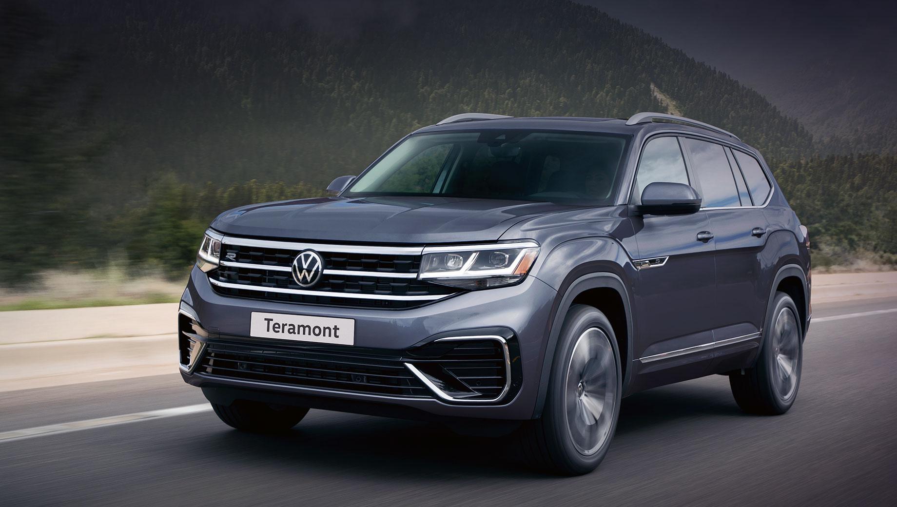 Обновлённый Volkswagen Teramont прибудет в Россию весной