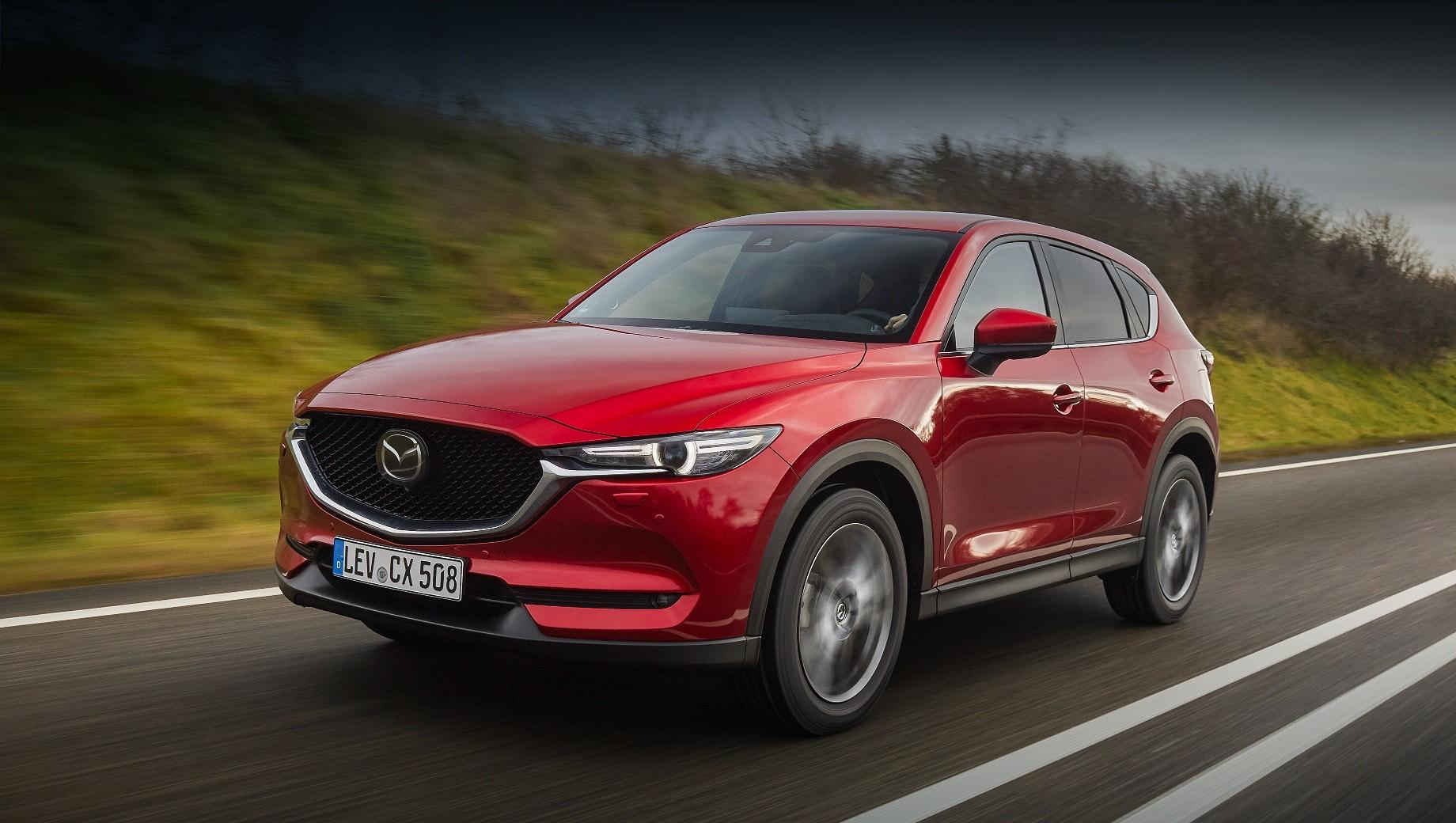 Европейская Mazda CX-5 обновилась по технике и оснащению