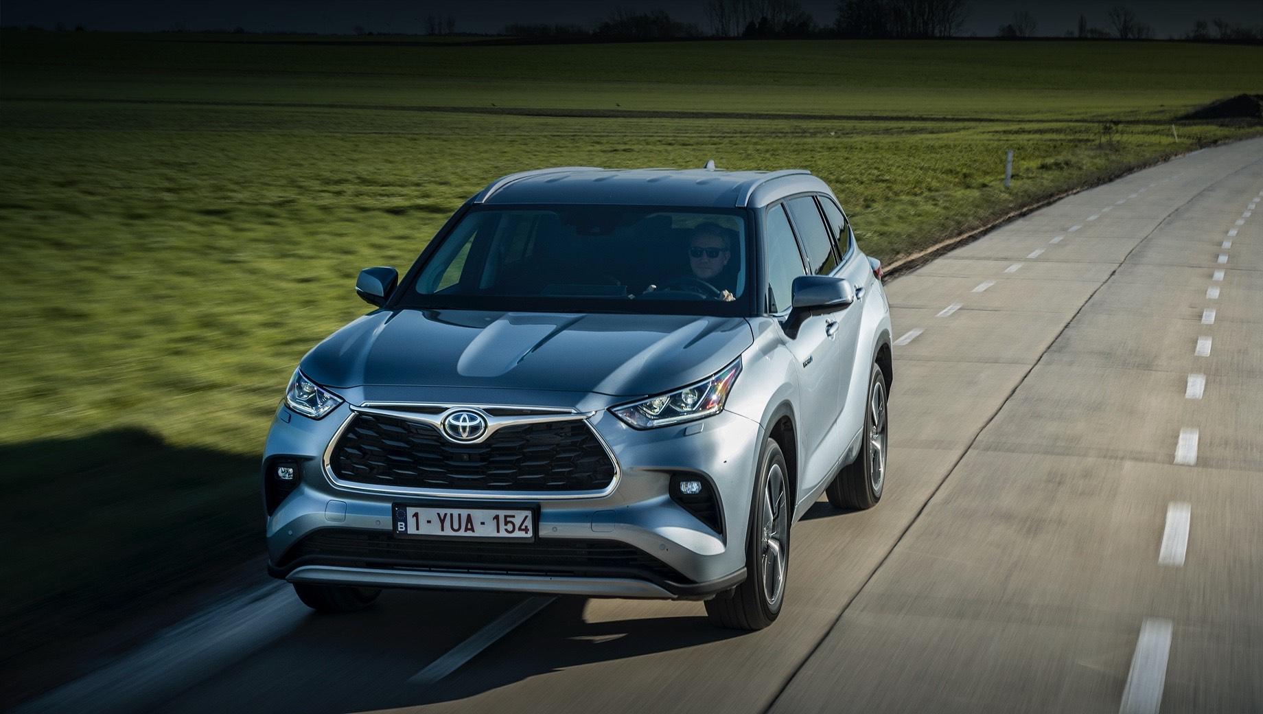 Модель Toyota Highlander заявится в Европу только гибридом