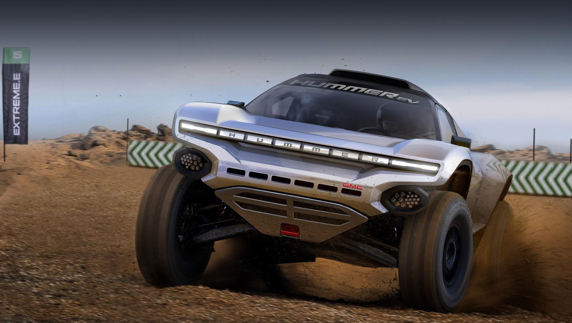 Марка GMC пришла в чемпионат внедорожников Extreme E