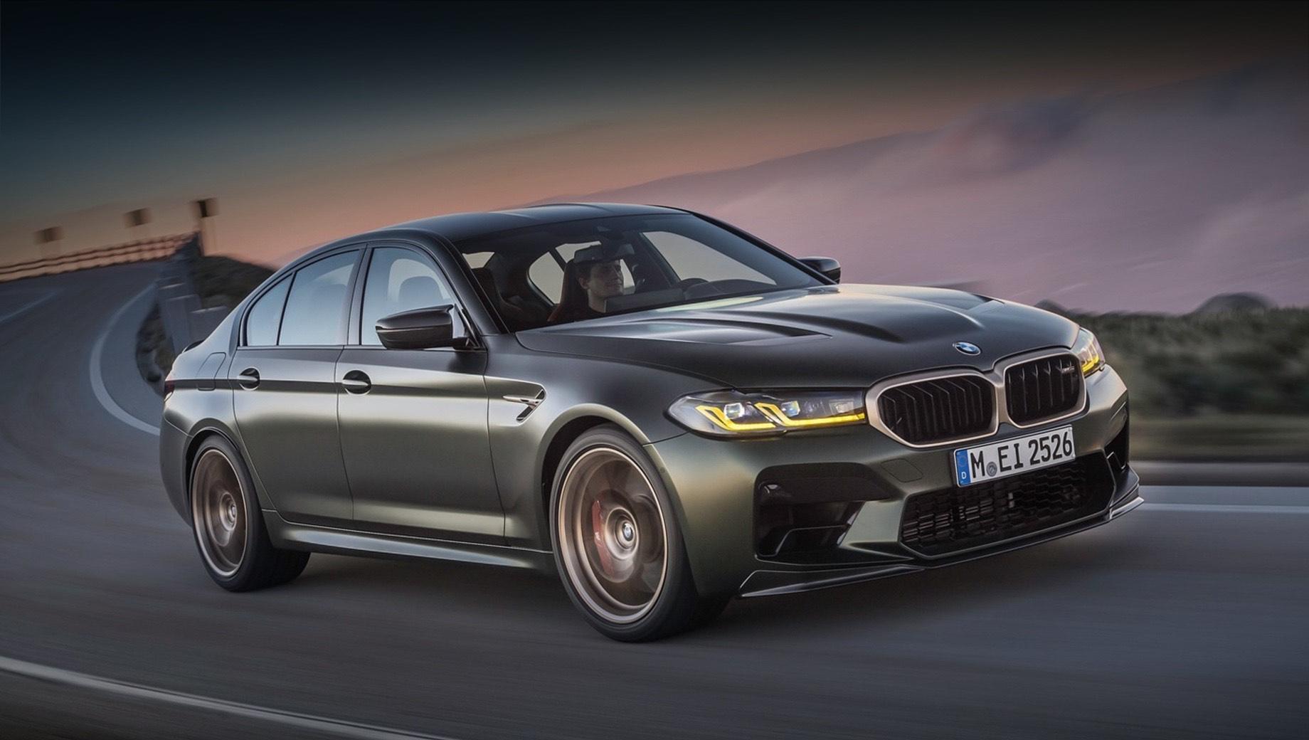 Седан BMW M5 предложил суперкаровскую динамику