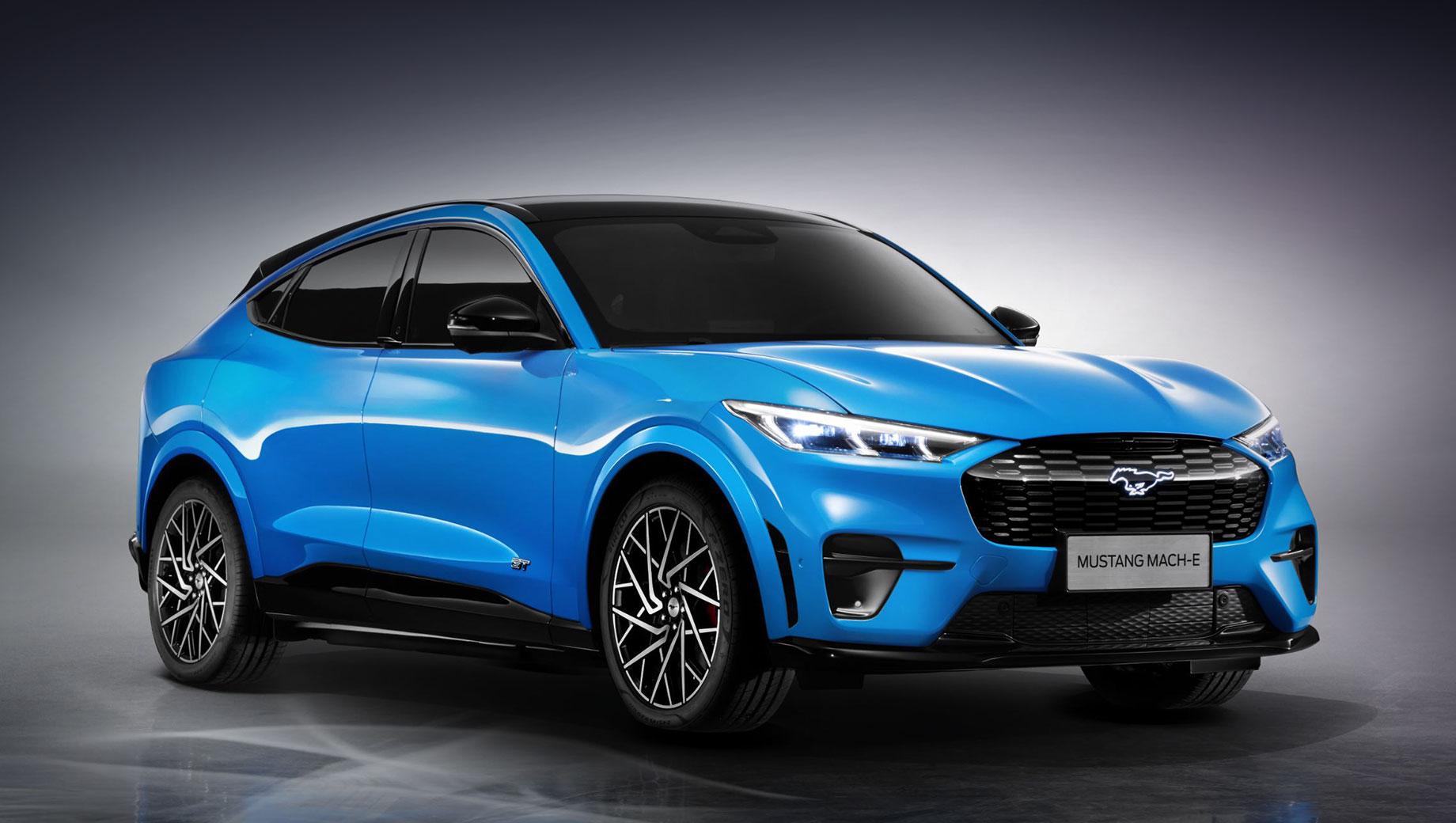 Производство электрокара Mustang Mach-E началось в Китае