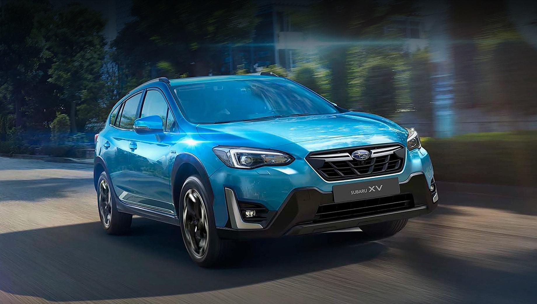 Subaru xv,Subaru crosstrek. В Англии подретушированный XV стоит от 31 655 фунтов стерлингов (3,3 млн рублей). Как и раньше, столько просят за полноприводную версию с вариатором и гибридной силовой установкой e-Boxer (156 л.с., 196 Н•м). Прежде XV был доступнее за счёт модификации 1.6 (114 л.с.), которую с рынка убрали.