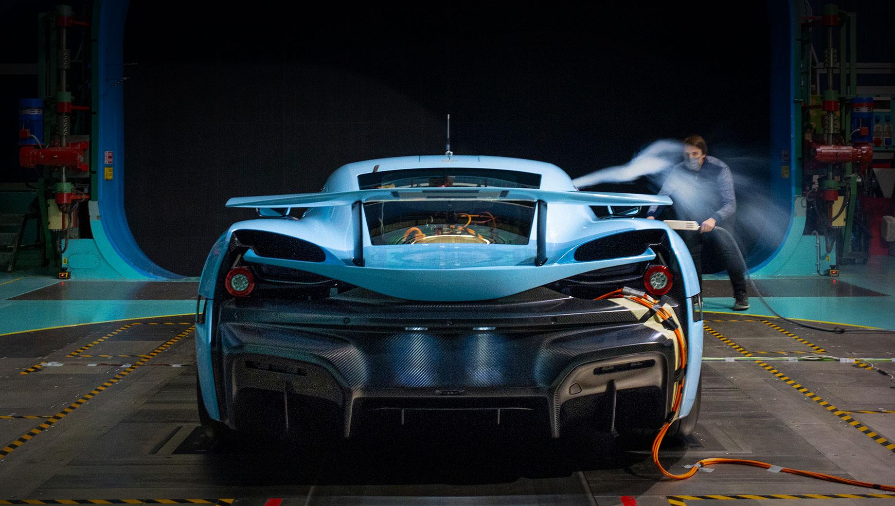 Дополнено: У купе Rimac C_Two улучшилась аэродинамика