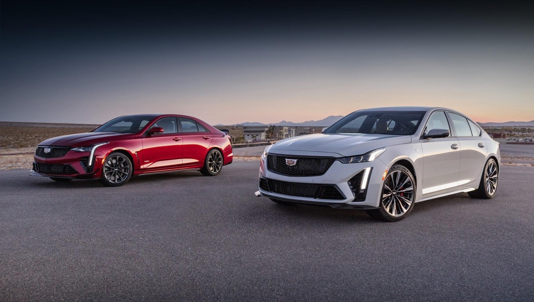Cadillac CT4-V и CT5-V серии Blackwing пойдут в продажу летом
