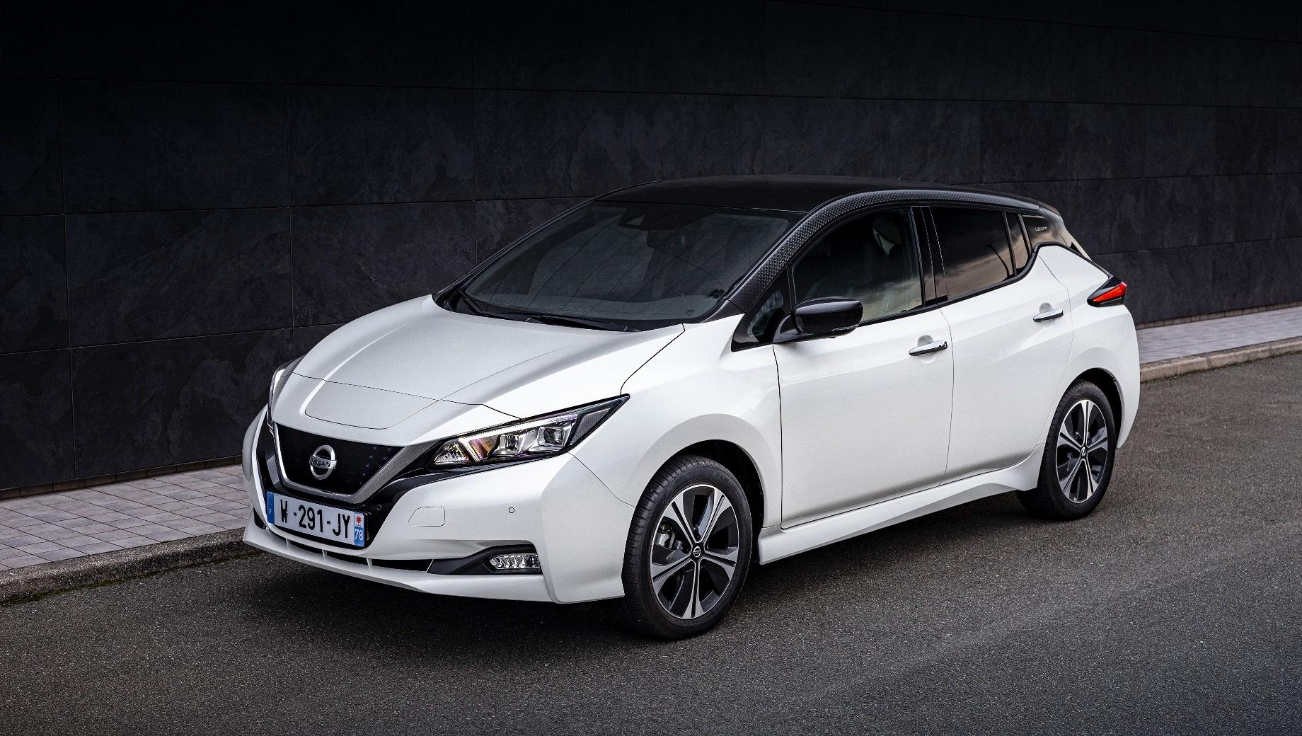 Электрокар Nissan Leaf10 напомнил об успехе модели