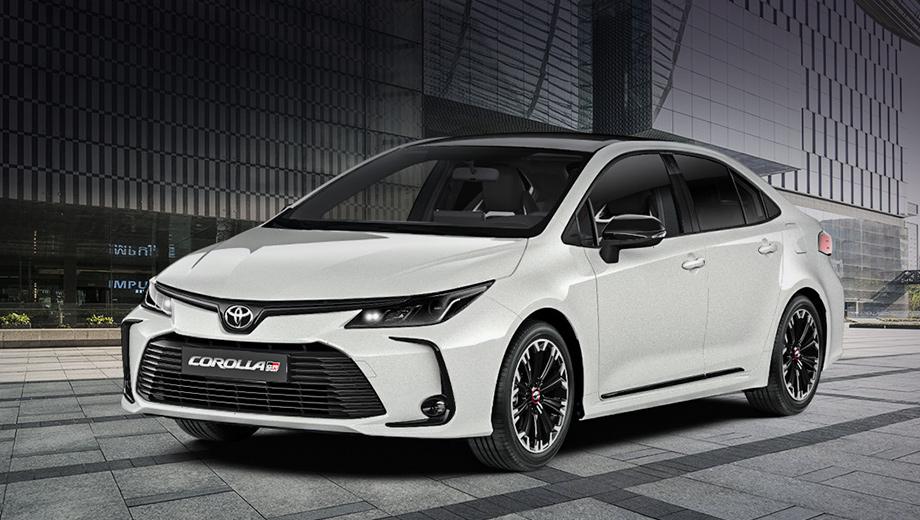 Toyota Corolla и C-HR в версии GR Sport оценены в рублях