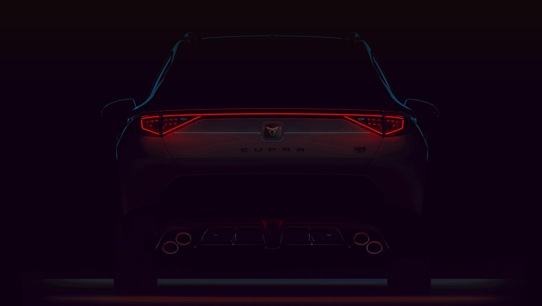 Кроссовер Cupra Formentor VZ5 будет рассекречен через две недели