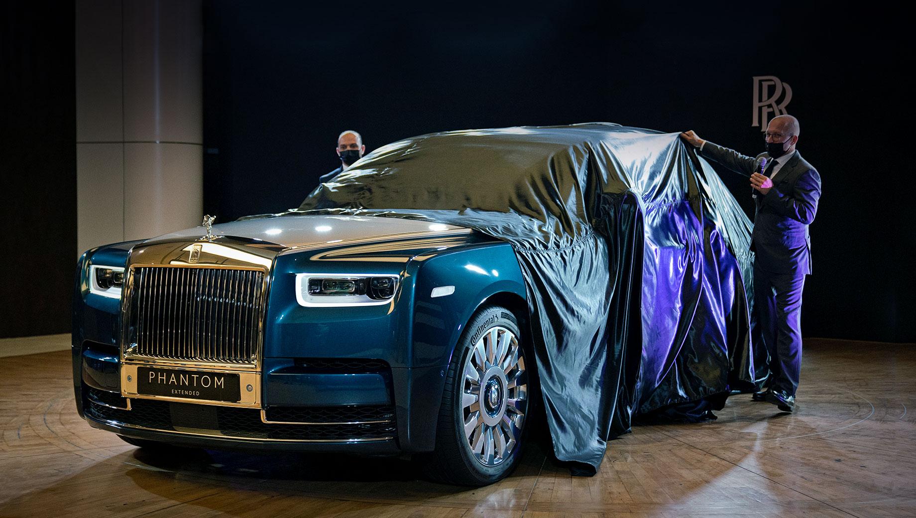 Rolls-Royce Phantom оперился в версии Iridescent Opulence