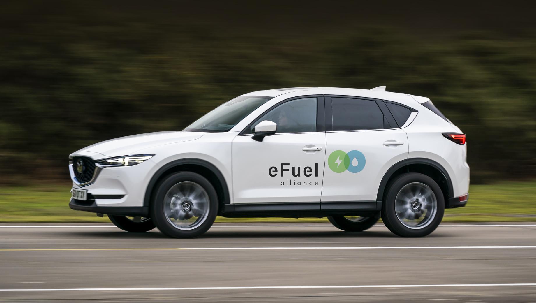 Mazda вступила в альянс для развития синтетического топлива