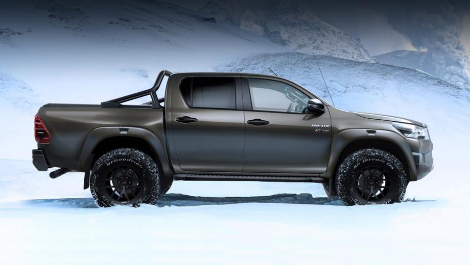 Пикап Toyota Hilux AT35 напомнил об ателье Arctic Trucks