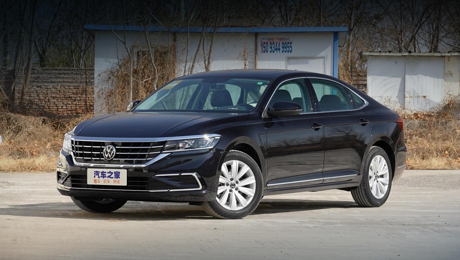 Китайский Volkswagen Passat пережил фейслифтинг