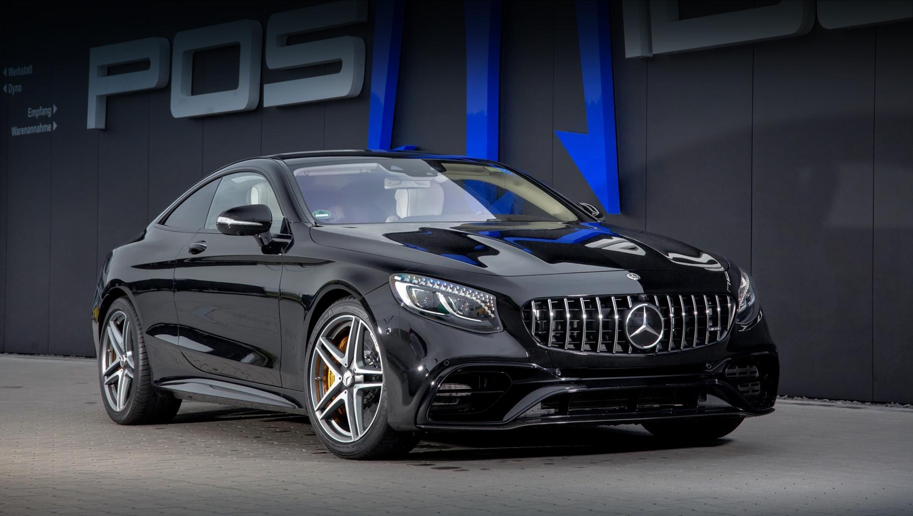 Posaidon наделил Mercedes-AMG S 63 впечатляющей динамикой